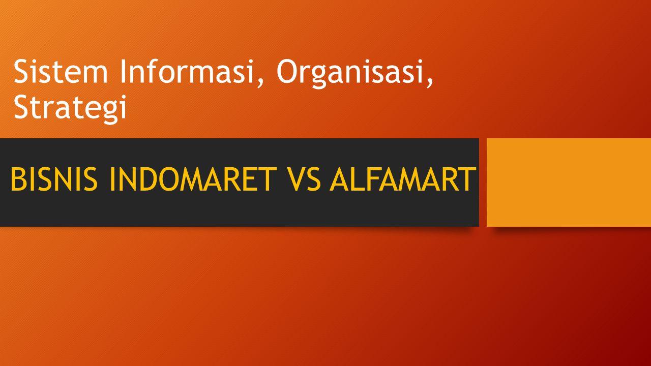 Sistem Informasi, Organisasi, Strategi