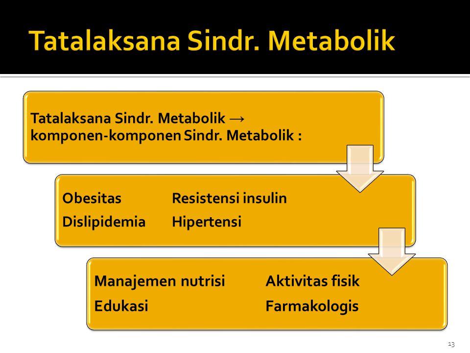 Tatalaksana Sindr. Metabolik