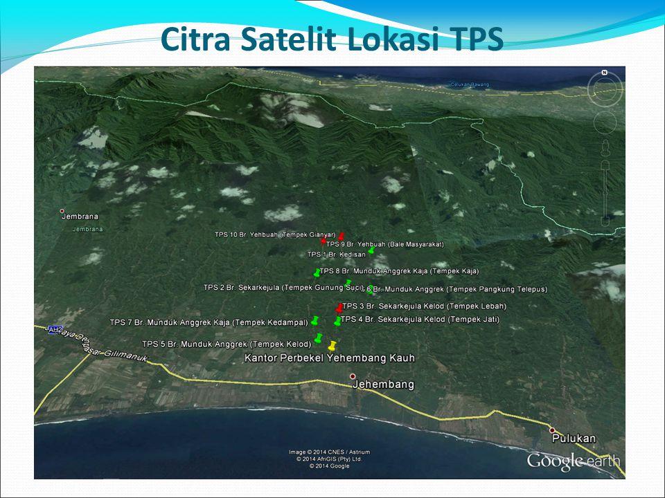 Citra Satelit Lokasi TPS