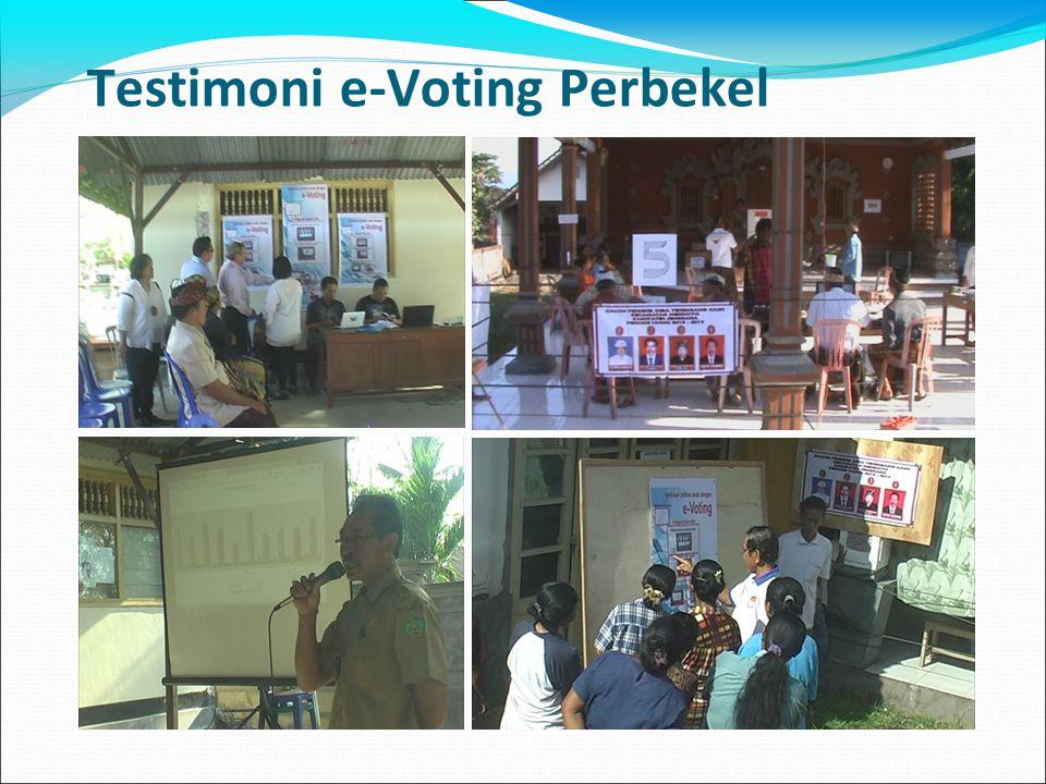 Testimoni e-Voting Perbekel