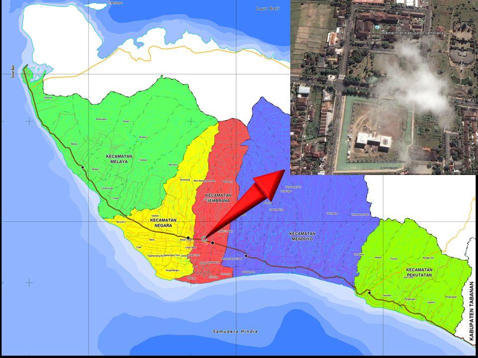 Peta Kabupaten Jembrana