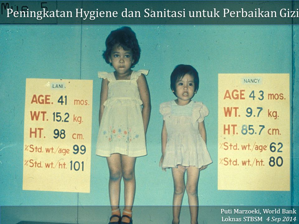 Peningkatan Hygiene dan Sanitasi untuk Perbaikan Gizi
