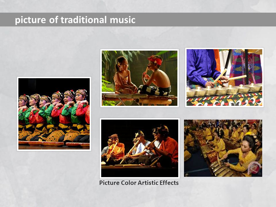 picture of traditional music