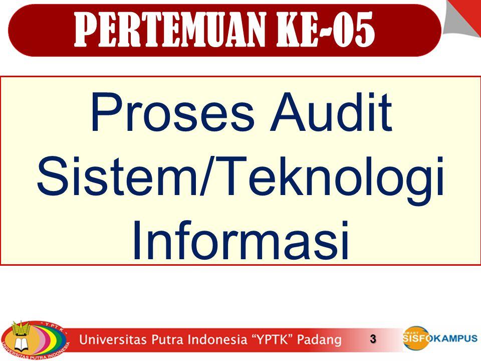 Proses Audit Sistem/Teknologi Informasi