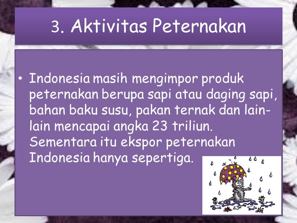 3. Aktivitas Peternakan