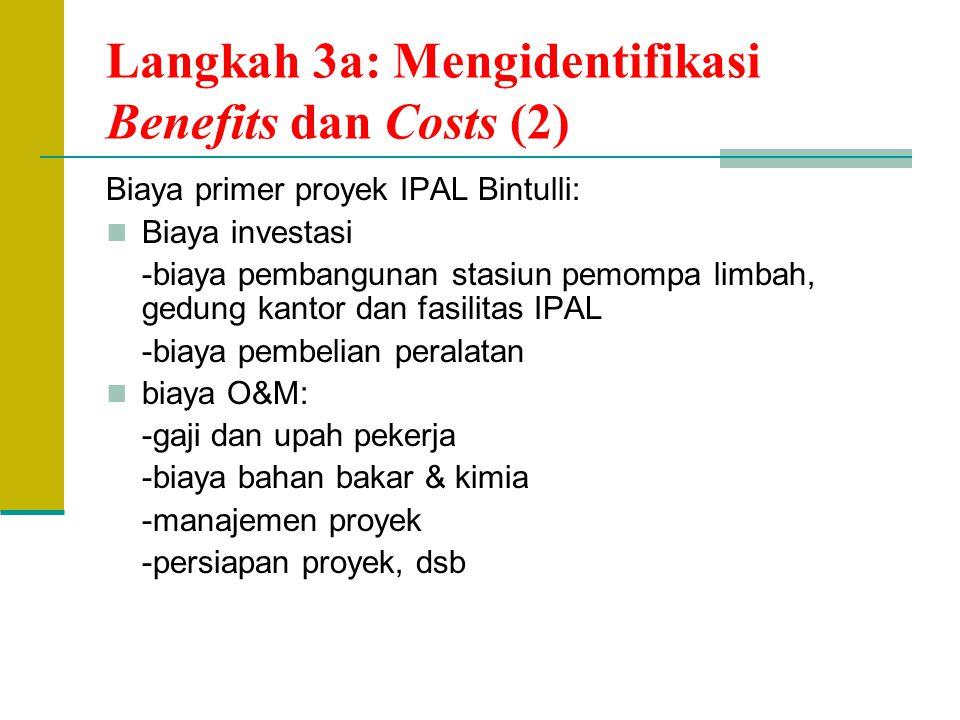 Langkah 3a: Mengidentifikasi Benefits dan Costs (2)