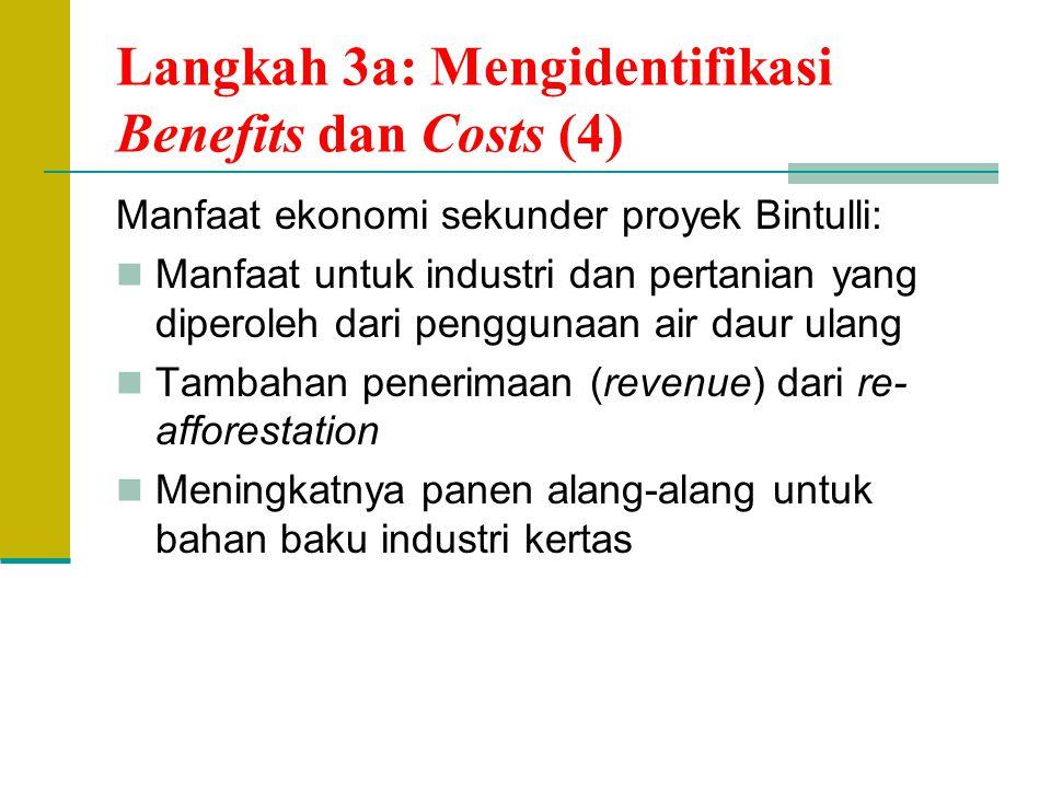 Langkah 3a: Mengidentifikasi Benefits dan Costs (4)