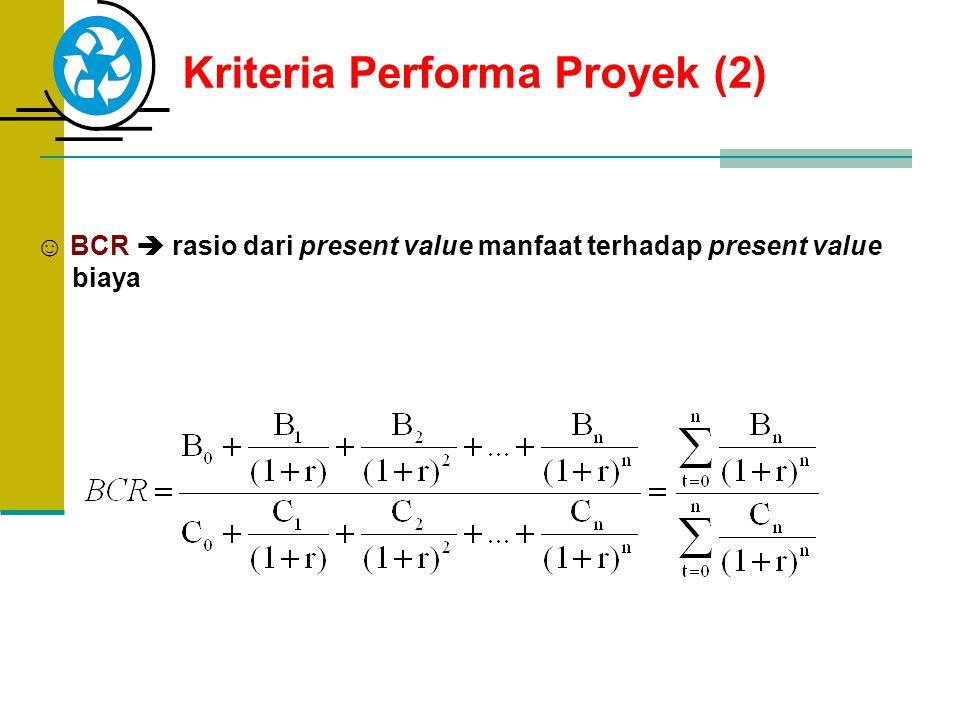 Kriteria Performa Proyek (2)