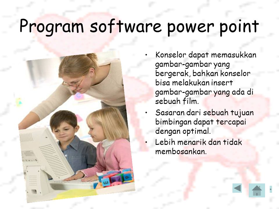 Program software power point
