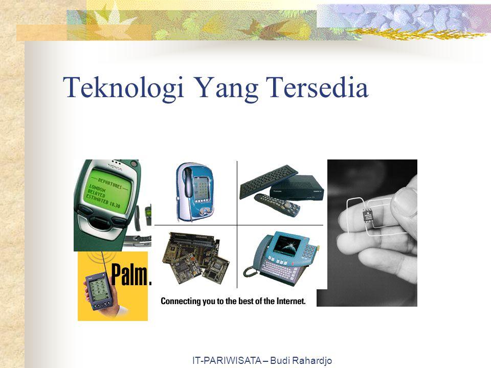 Teknologi Yang Tersedia