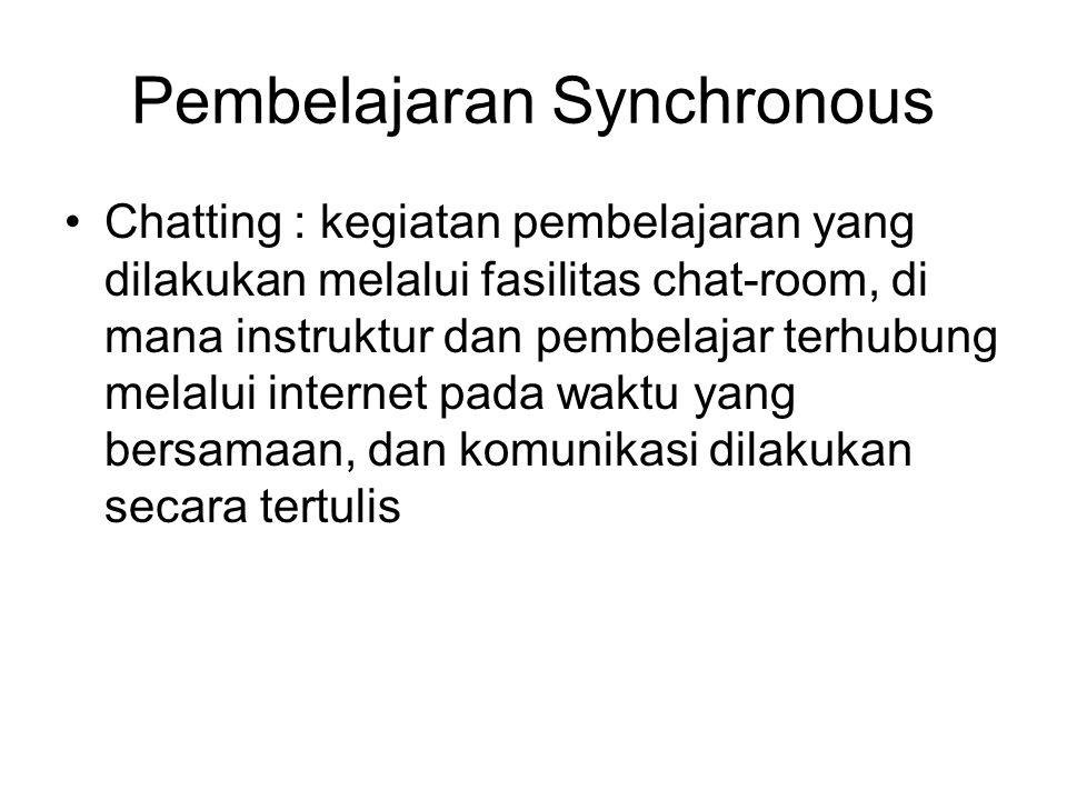 Pembelajaran Synchronous