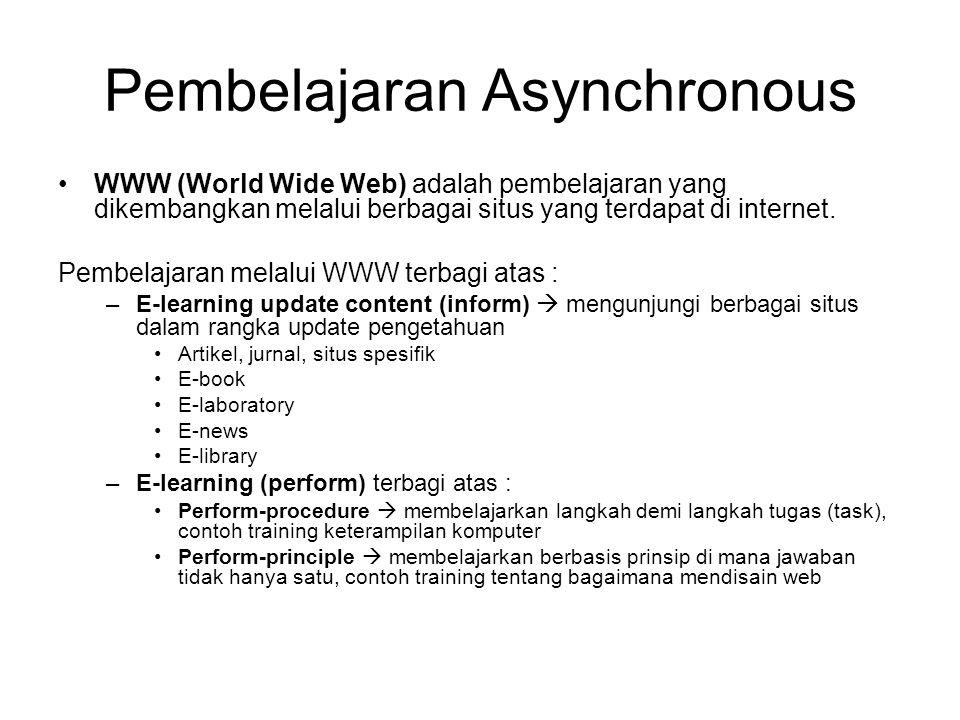 Pembelajaran Asynchronous