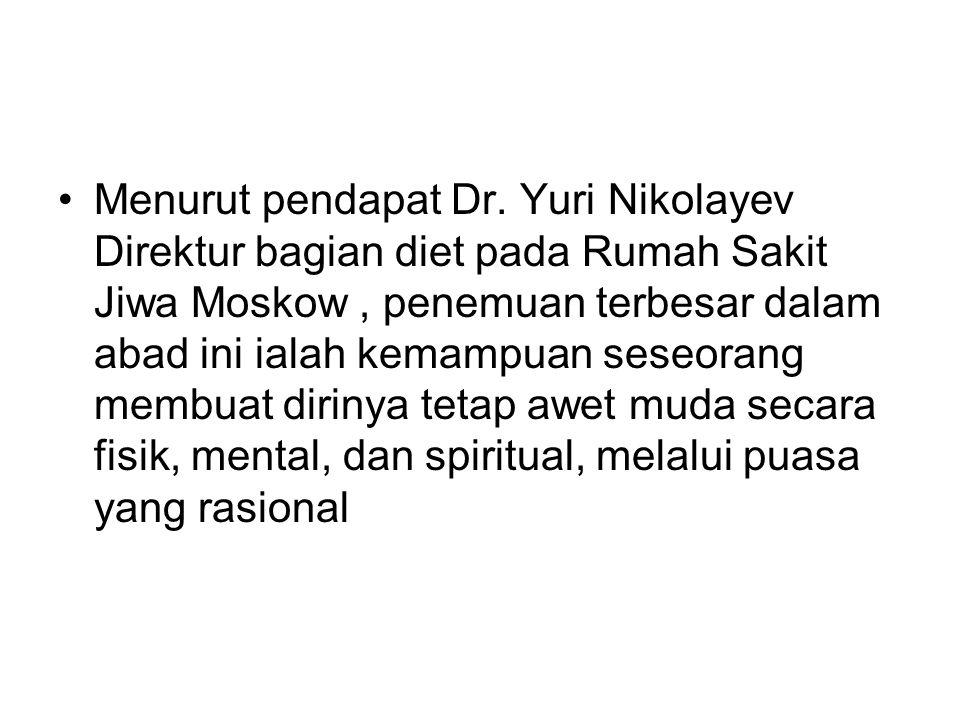 Menurut pendapat Dr.