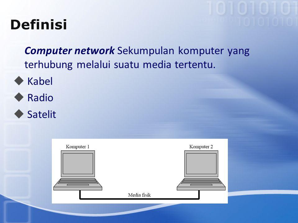 Definisi Kabel Radio Satelit