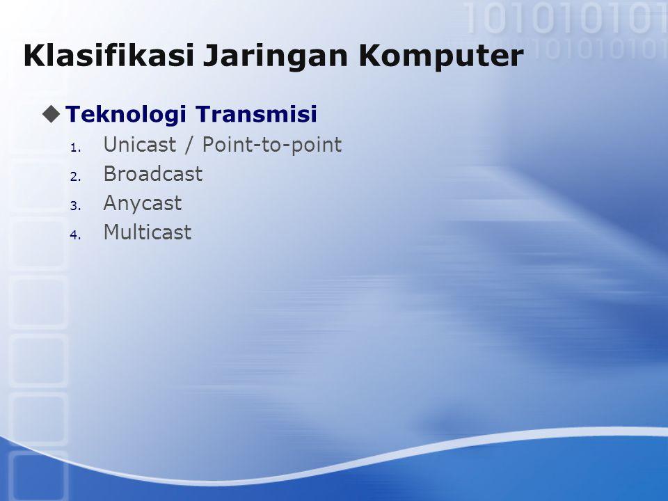Klasifikasi Jaringan Komputer