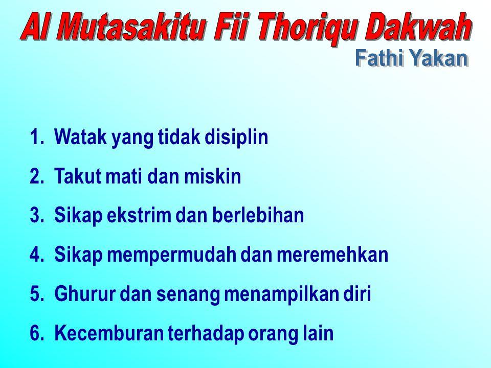 Al Mutasakitu Fii Thoriqu Dakwah