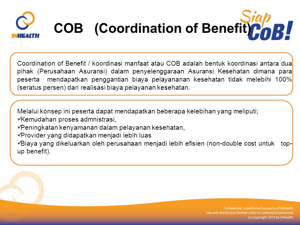 COB (Coordination of Benefit)