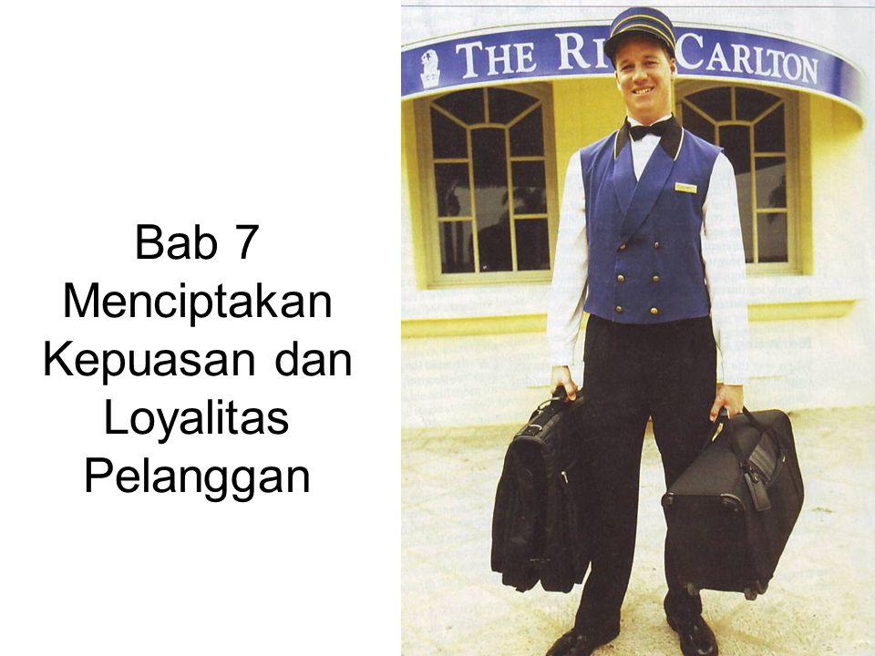 Bab 7 Menciptakan Kepuasan dan Loyalitas Pelanggan