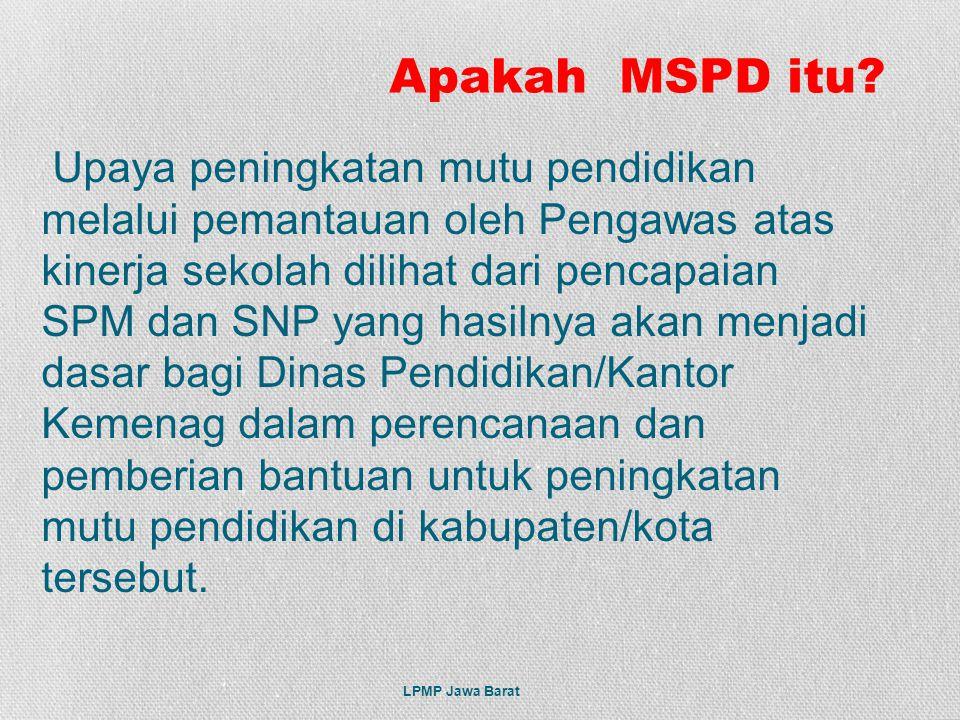 Apakah MSPD itu