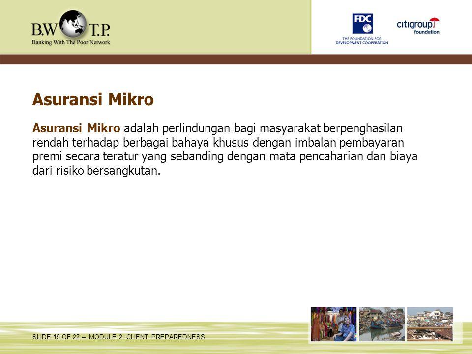 Asuransi Mikro