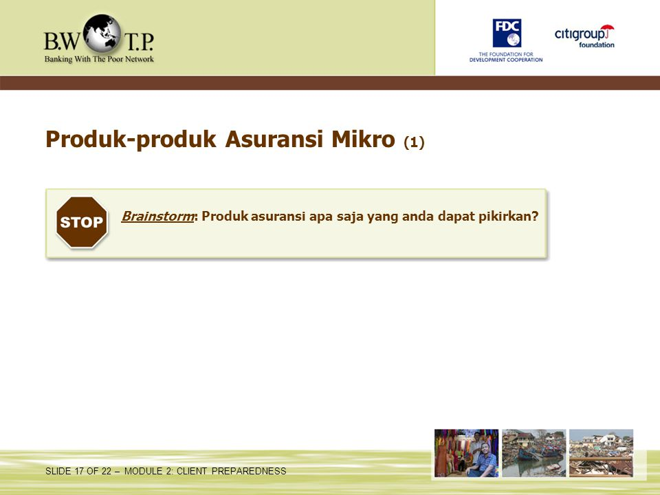 Produk-produk Asuransi Mikro (1)