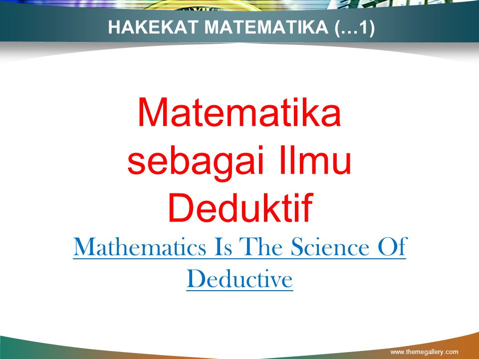 HAKEKAT MATEMATIKA (…1)