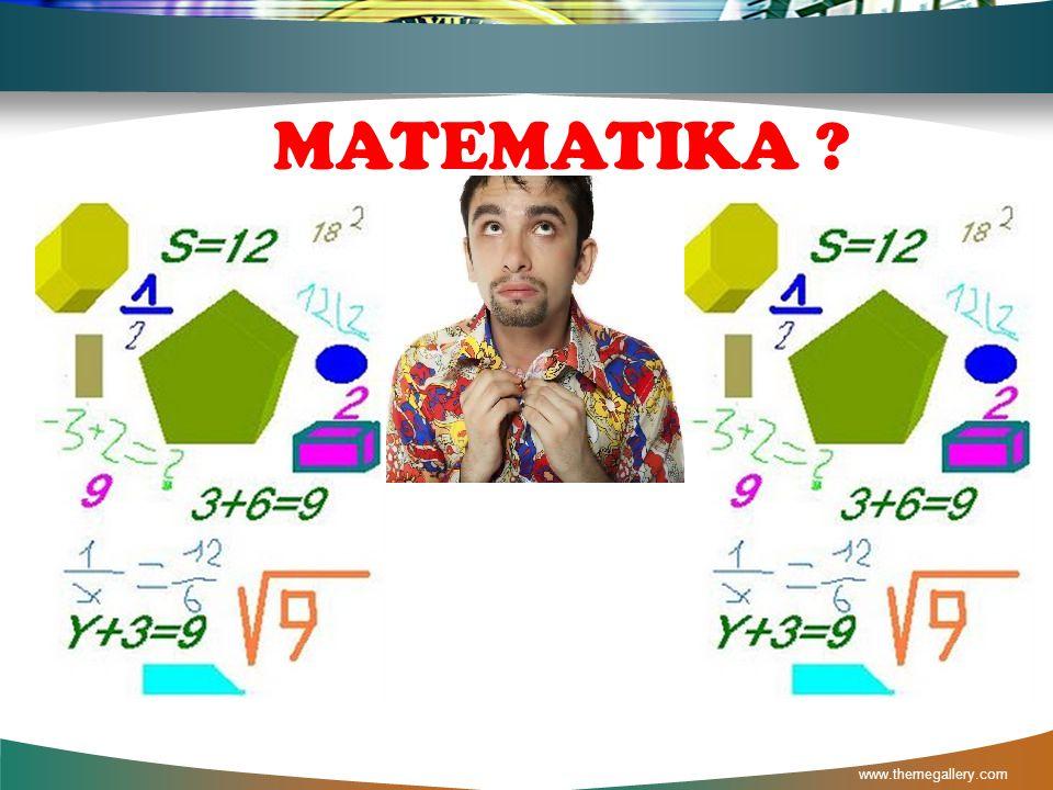 MATEMATIKA www.themegallery.com