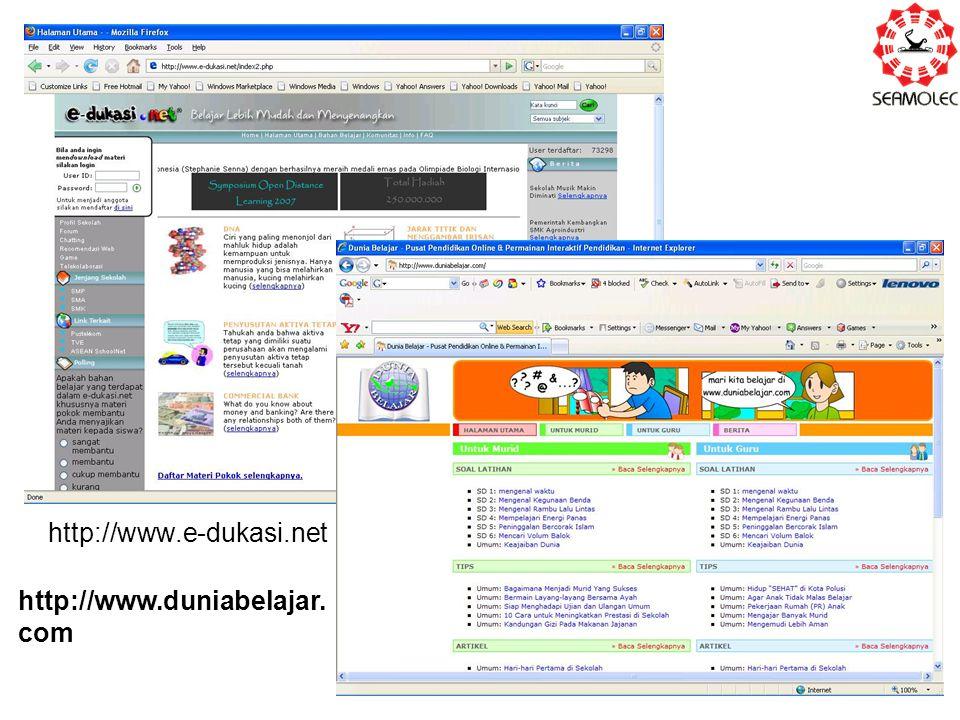http://www.e-dukasi.net http://www.duniabelajar.com