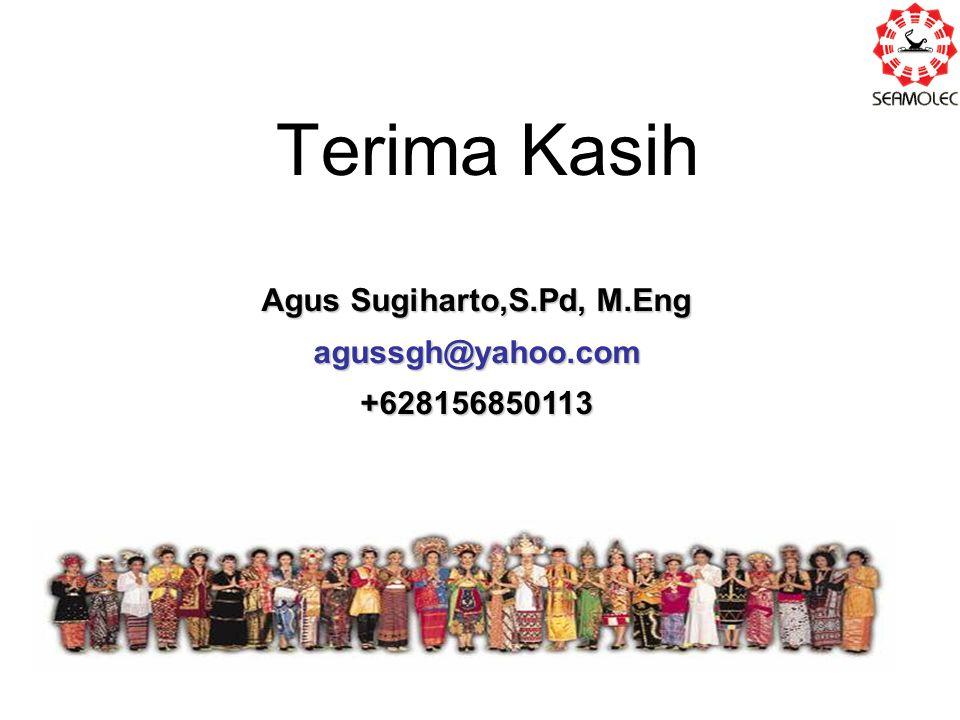 Agus Sugiharto,S.Pd, M.Eng