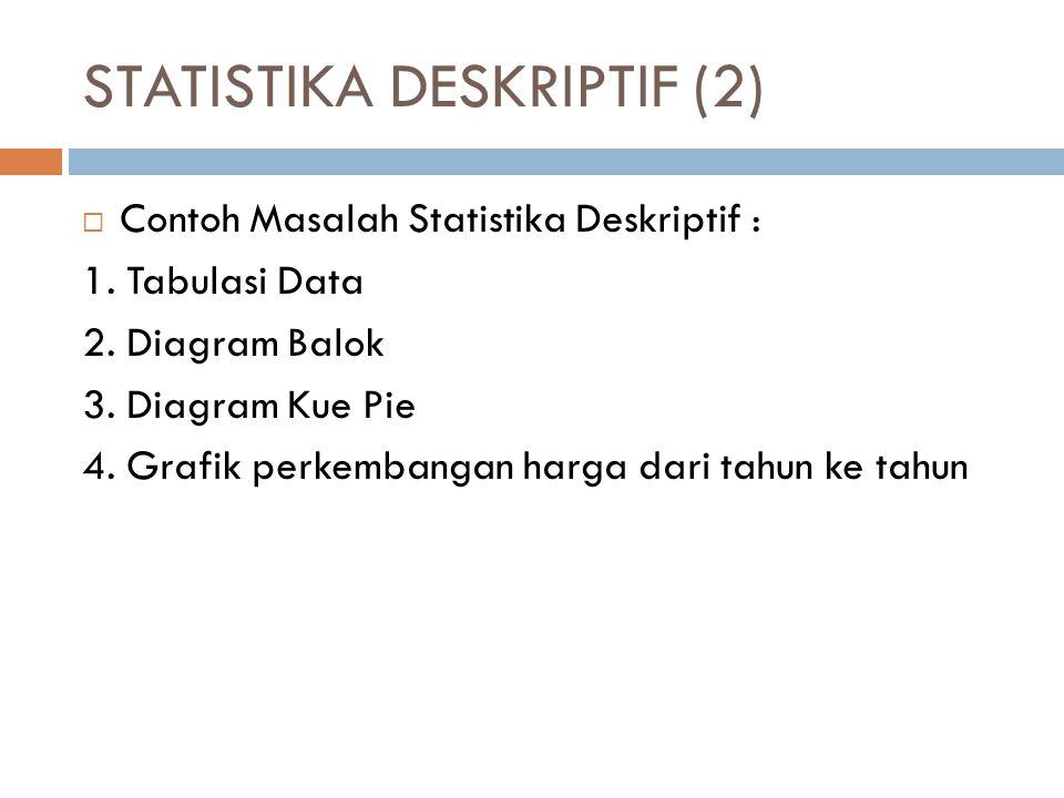STATISTIKA DESKRIPTIF (2)