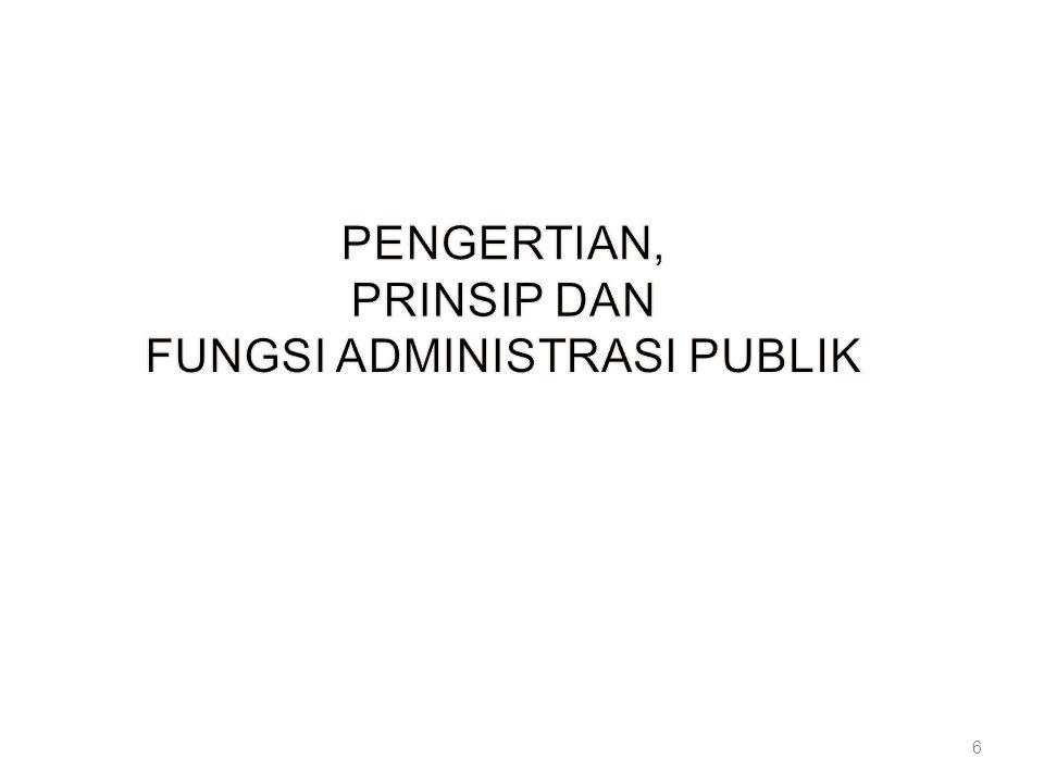 FUNGSI ADMINISTRASI PUBLIK