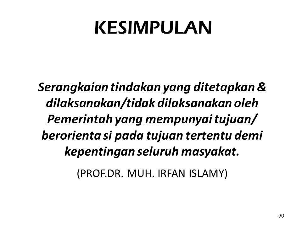(PROF.DR. MUH. IRFAN ISLAMY)