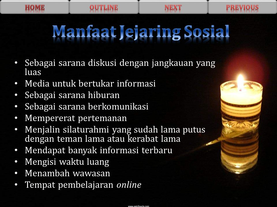 Manfaat Jejaring Sosial