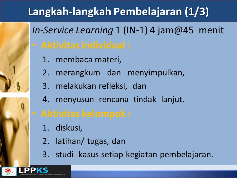 Langkah-langkah Pembelajaran (1/3)
