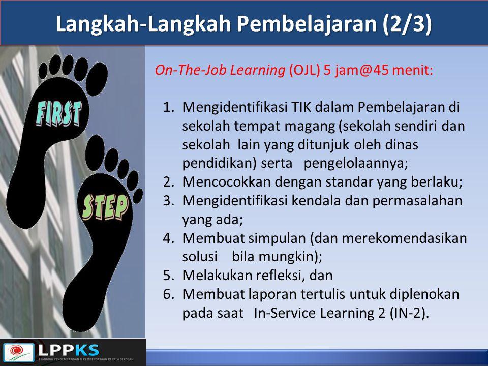 Langkah-Langkah Pembelajaran (2/3)