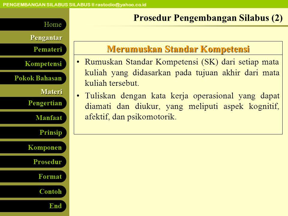 Prosedur Pengembangan Silabus (2)