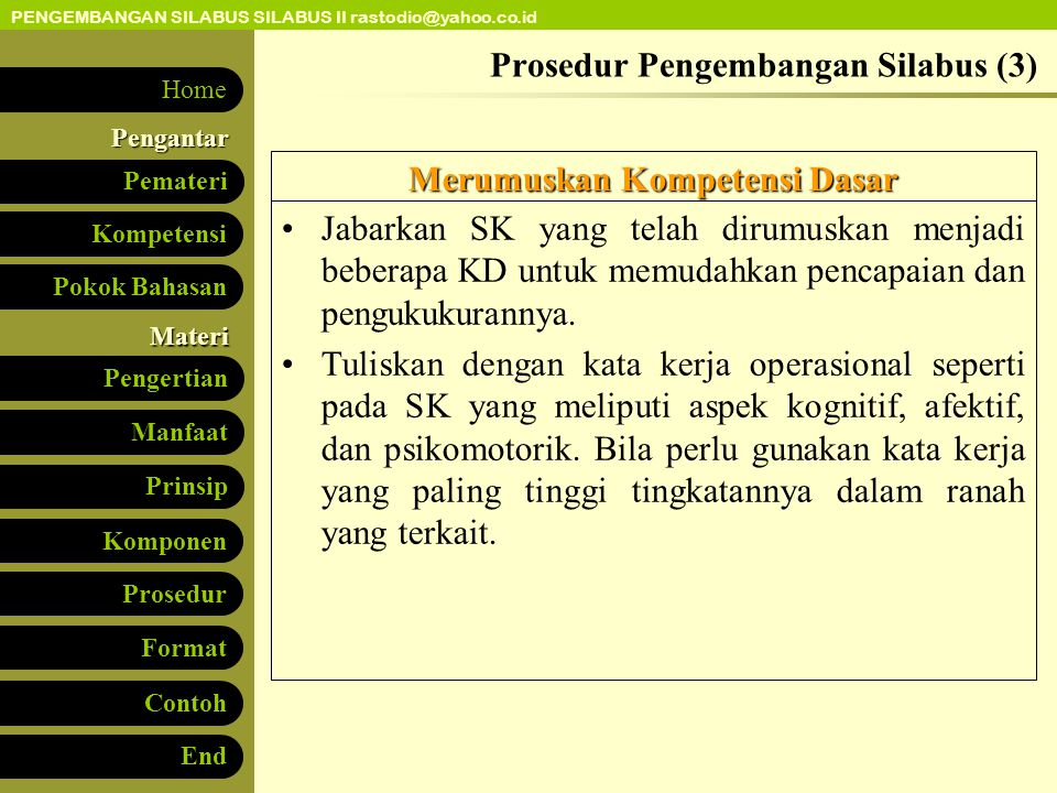Prosedur Pengembangan Silabus (3)