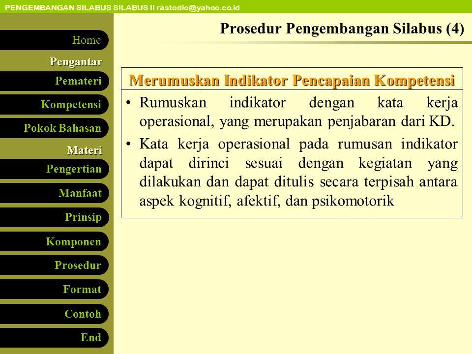 Prosedur Pengembangan Silabus (4)