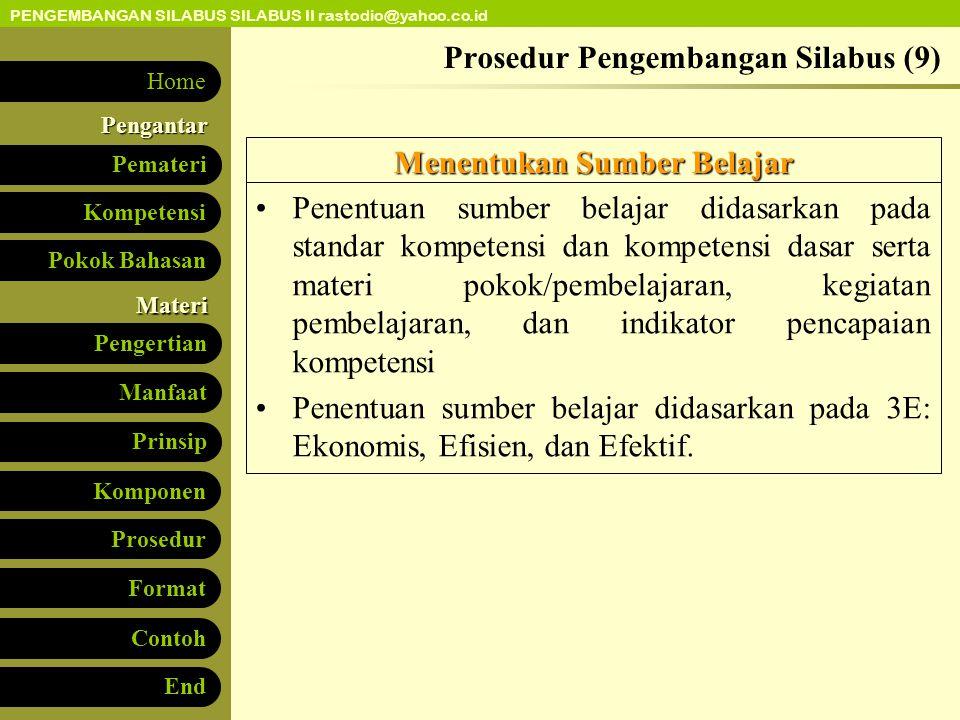 Prosedur Pengembangan Silabus (9)