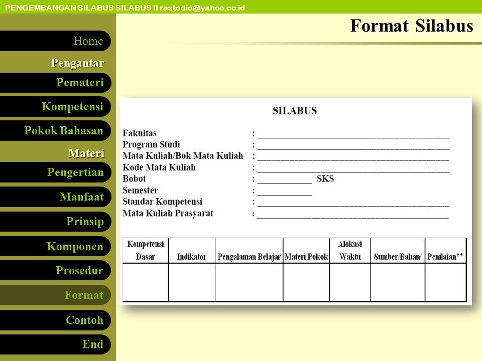 Format Silabus