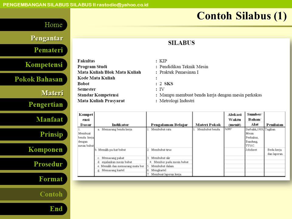 Contoh Silabus (1)