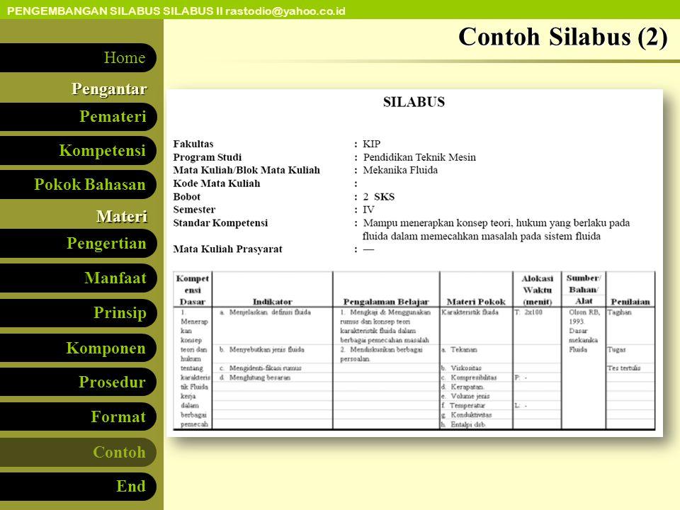 Contoh Silabus (2)