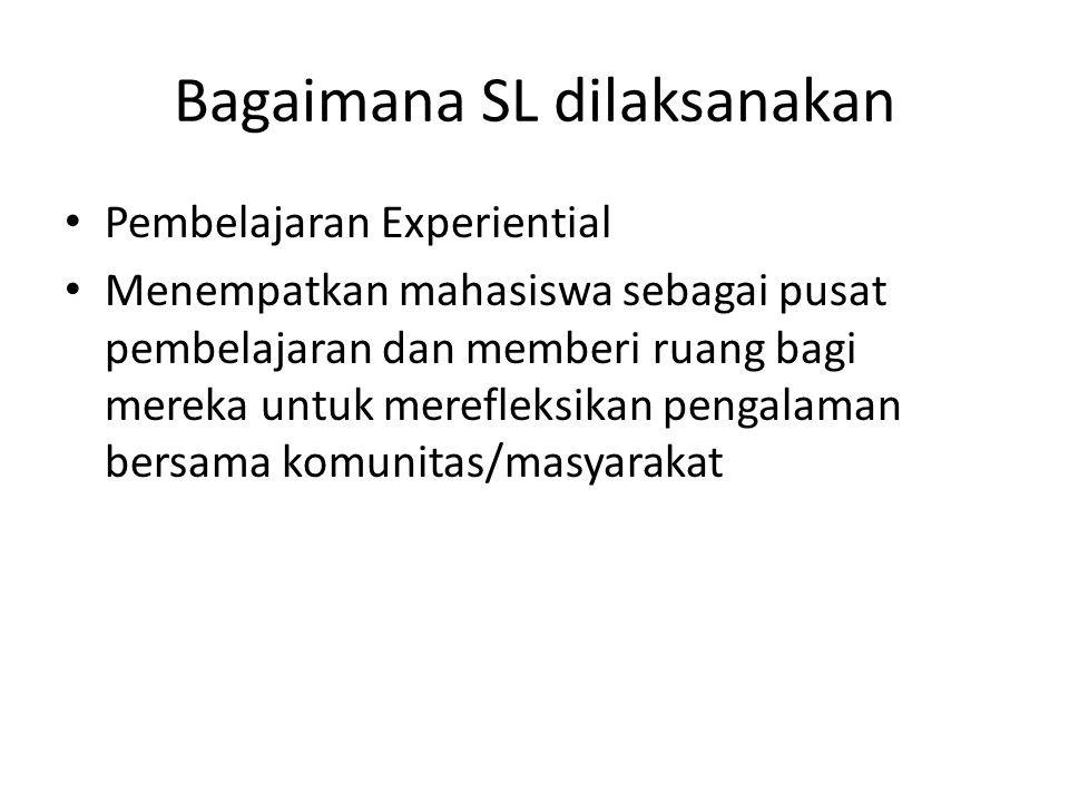 Bagaimana SL dilaksanakan