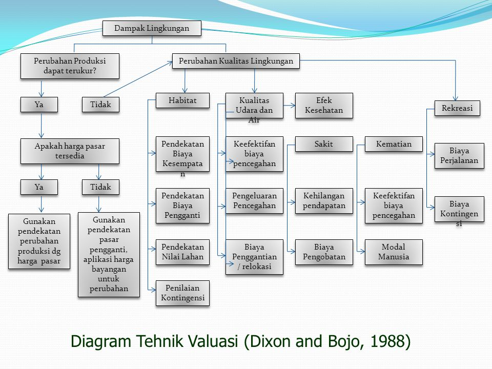 Diagram Tehnik Valuasi (Dixon and Bojo, 1988)