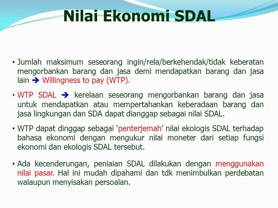 Nilai Ekonomi SDAL