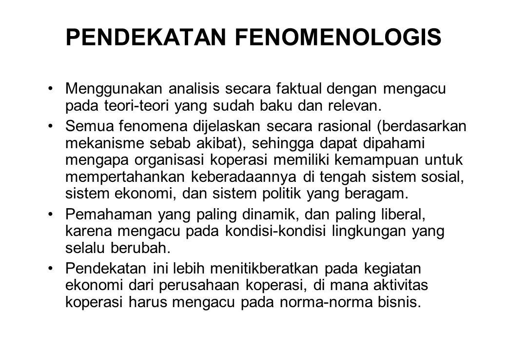 PENDEKATAN FENOMENOLOGIS