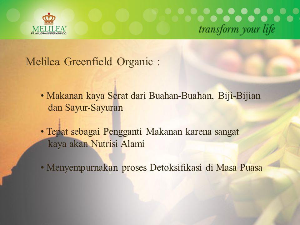Melilea Greenfield Organic :