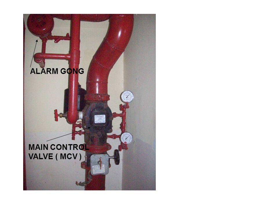 ALARM GONG MAIN CONTROL VALVE ( MCV )