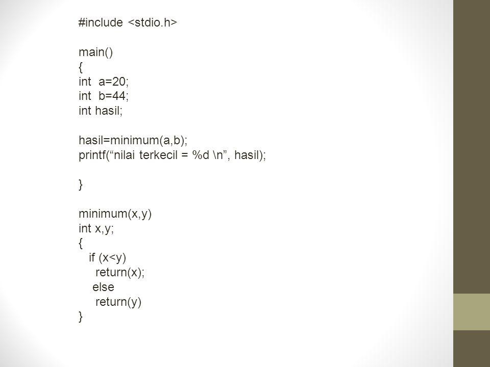 #include <stdio.h>