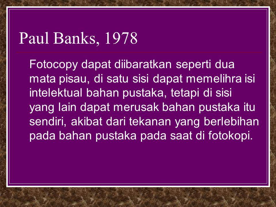 Paul Banks, 1978